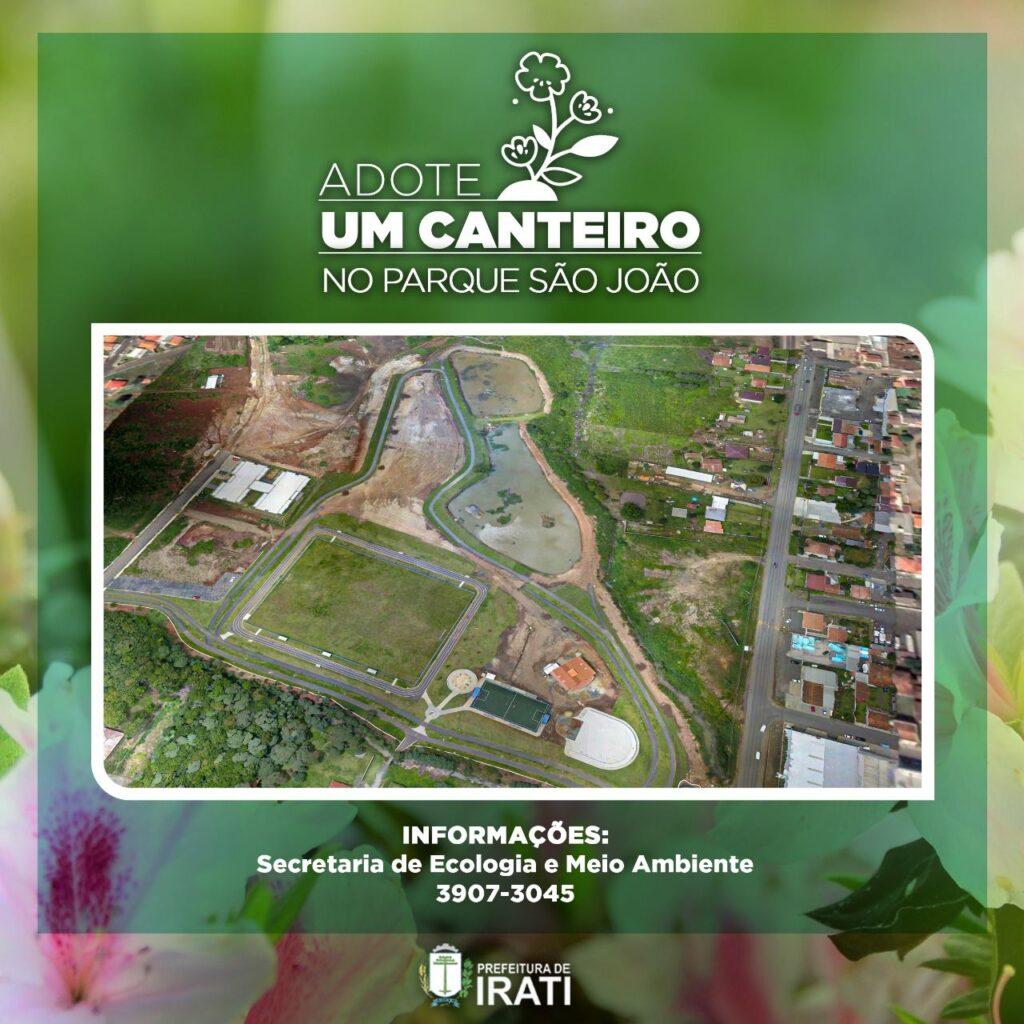 Parque da Vila São João terá canteiros para adoção