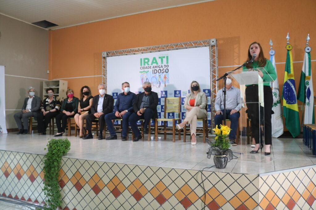 Irati lança programa Cidade Amiga do Idoso da OMS